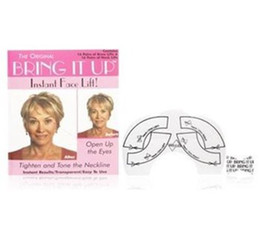 Wholesale Hot Selling women bring it up instant face lift sets bring it up8 slices neck chin left slices