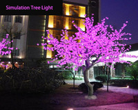 Wholesale High quality made In China Supply led simulation tree flower the color cherry peach tree lights popular in Canada waterproof light