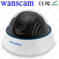 Wholesale A2 Wireless Wi Fi Dome Helmet Ceiling IR Night Vision Infrared CCTV Security Surveillance Network Webcam Internet IP Camera WANSCAM