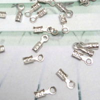 Wholesale 2000pcs Rhodium Silver Silver Plated Copper Metal Connectors Clasp for Polo chain DIY Jewelry Accessories