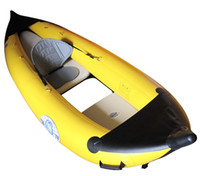 Wholesale New Arrival Person Inflatable Canoeing Drift Canoe Kayaks Fish Boat Kayaker Boat Air Pump Oar Seat