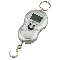Pocket Scale <50g 40kg Wholesale~Free Shipping Brand New 20g-40Kg Digital Luggage Fishing Weight Scale