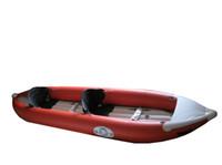 Wholesale Professional Person Inflatable Canoeing Drift Canoe Kayaks Fish Boat Sport Kayaker