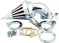 Wholesale Motorcycle Air Cleaner filter Intake Kits for All Harley S amp S Carburetors and Custom Application Chrome MT227