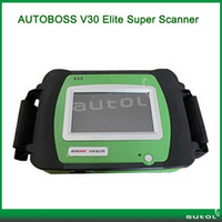 Wholesale 2013 Top Rated SPX AUTOBOSS V30 Elite Scanner V Vehicle Diagnosis Computer Asian European American Version Update Online