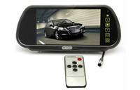Wholesale 7 Inch TFT LCD Car Rearview Mirror Display Monitor with Touch Button car dvd