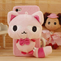 3D Bear Ali doll smokie polka pig rabbit dolls case for ipho...