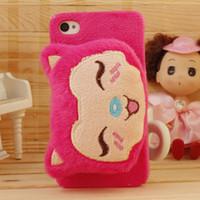 3D Ali doll smokie polka pink pig rabbit Bear dolls case for...