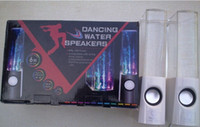 Cheap Dancing Water Speaker USB mini Speaker colorful light Portable for Laptop cellphone mp3 mp4