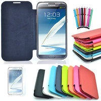 For Samsung Leather White Flip Leather PU Slim Hard Luxury Case Cover for Samsung Galaxy Note 3 III N9000 free shipping