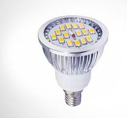 6W GU10 E27 E14 Projecteur à LED 5630 SMD 15 LEDs Spot Spot Lamp ampoules pour l'éclairage intérieur à domicile WW / CW CE ROSH 50pcs / lot Express à partir de e27 ce smd fabricateur