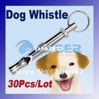 Wholesale Metal Dog Whistling Dog Flute Pet Dog Training Supersonic Whistle Pet Training Products 1517