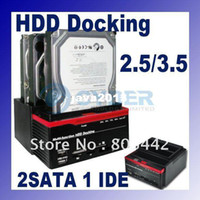 Wholesale Multi Function quot quot x SATA x IDE HDD Docking Station Clone USB HUB dropshipping