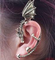 gothic punk - Hot Fashion Gothic Punk Temptation Metal Dragon Bite Ear Cuff Wrap Clip Earring