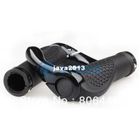 Wholesale Hot Sale Mountain MTB Bike Bicycle Cycling Lock On Handlebar Grips Ends Black