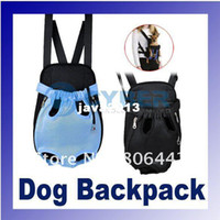 Wholesale Nylon Pet Dog Carrier Legs Out Front Style Backpack Net Bag Any Colors
