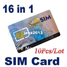 Wholesale 10Pcs in GSM SIM Mobile Phone Magic Super SIM Max Card