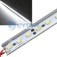 Wholesale DC V SMD LED cm Rigid Strip Light Bulbs with Aluminum Alloy Shell Cold White