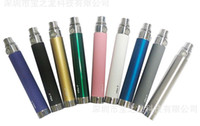 Wholesale High Quality electronic cigarette ego t USB Battery pass through battery ego u battery attached usb line charged from bottom