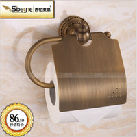 Wholesale Fashion antique copper hanging toilet paper roll holder
