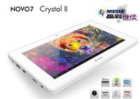 Wholesale DHL Free New Ainol Novo Crystal Quad Core Tablet PC Inch MVA HD Screen Android GB RAM GB Camera Z102