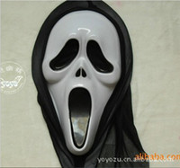 Wholesale Halloween Mask Horror Masks Terrorist mask Rubber Grimace Masks Death Mask
