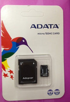 Wholesale X200 by DHL Sell ADATA GB Class Micro SD TF Memory Card with Adapter Retail Package Flash SD SDHC Cards Transflash
