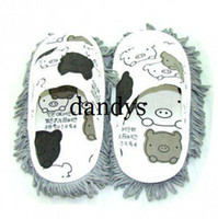 Wholesale canvas mop slipper CPAM dandys