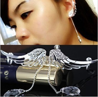 angels bones - Fashion personality angel wings no pierced earrings ear clip ear bones clip Korean newest creative jewelry LM C147