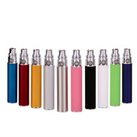 Electronic Cigarette Battery Red Wholesale - HOT Ego-t battery 10 colors for E-Cigarette E-cig Ego-T Ego-w Ego-C CE4 CE5 CE6 battery 650 900 1100 1300mah Ecig kits 50pcs bes