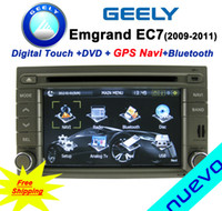 Wholesale Car DVD GPS Navigation Free Map For Geely Emgrand EC7