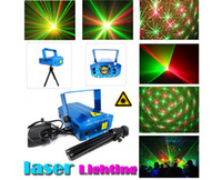 Wholesale new Hot sell Mini Projector R amp G DJ Disco Light Stage Xmas Party Laser Lighting Show