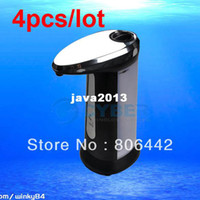 Wholesale 4Pcs WQ Automatic Sensor Infrared Handfree Touchless Cream Sanitizer Soap Dispenser