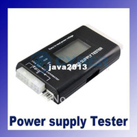 Wholesale 5pcs PC LCD Power Supply Tester pin SATA HDD Testers