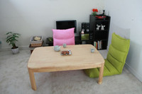 Wholesale KOTATSU Japanese Rectangle cm round corner natural color low wood coffee table