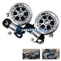 Wholesale car Cheap V ATV Motorcycle Loudspeaker Audio Stereo Speakers Horn Waterproof