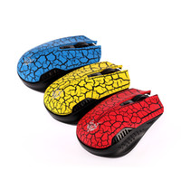 Wholesale US Stock DPI Ghz Optical USB Wireless Mouse Mice USB Receiver for PC Laptop Computer Desktop Red Yellow Blue
