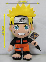 Wholesale Naruto Uzumaki Naruto quot Plush Toy Cosplay Costume Soft Stuffed Doll Gift