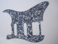 Wholesale Gray Pearl Ply S S H Guitar Pickguard Holes For START