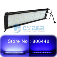 Wholesale Promotions quot LED Fish Tank Aquarium Light Lamp Blue White EU Plug TK0537