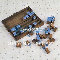 Wholesale New Cute Retro Wooden Alphabet Pattern Wood Stamp Set Group Set