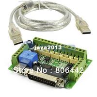 Wholesale 5 Axis CNC Breakout Board Interface Adapter FOR Stepper Motor Driver TK0457