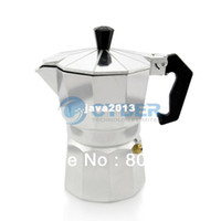 Wholesale New Stove Top CUPS Continental Aluminum Coffee Maker Coffee Pot Machine Percolator TK0961