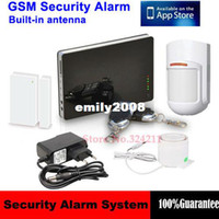 G1B android apps security - Newest iOS Apps Supported Smart Wireless Burglar GSM Home Security Alarm System Remote Control by SMS Calling