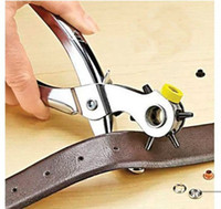Wholesale Leather Hole Punching Tool Mending Solution Add Eyelets Pliers Roto Punch