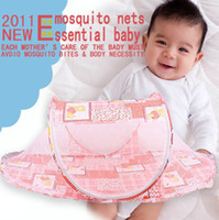 Wholesale Rocker folding baby mosquito nets baby infant child twill mosquito nets factory direct