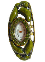 Wholesale 2013 Christmas Alloy Anti Brass Quartz Bangle Watch gift