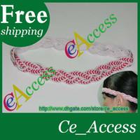 sports ribbon - baseball braided headband sports non slip headband baseball ribbon headband