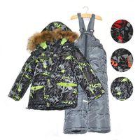Wholesale 2013 fashion autumn Active Style Ski Suits for boys Kids Cotton warm Sets hoodie coat pants chirldren High Quality Clothes