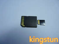 Wholesale mobile phone tf GB Micro SD SDHC TF Flash Memory Card GB genuine new Cards with adapters free DHL